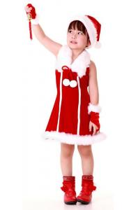 Red Holiday Girl Dress