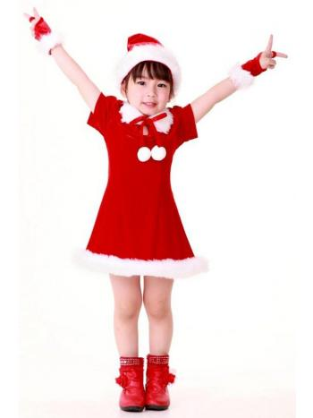 Darling Santa Girl Dress