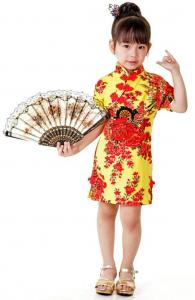 Cheery Little Girl Qipao