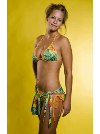 Tropical Flower Bikini Set