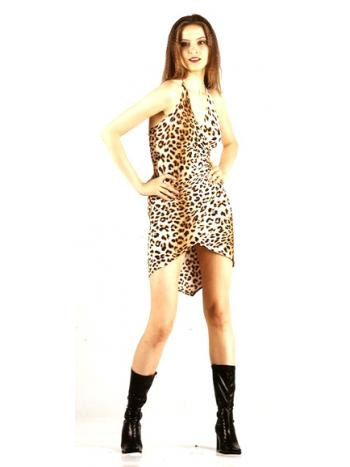 Chic Leopard Dress