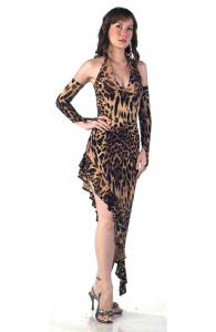 Leopard Party Dress