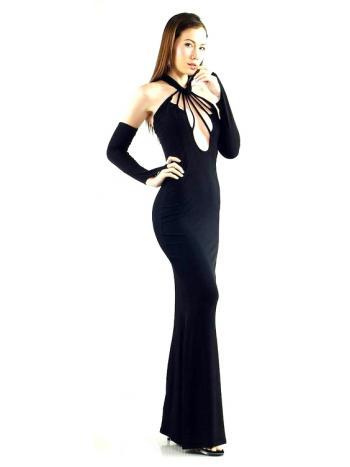 Sexy Black Evening Dress