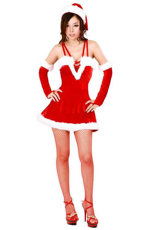 b291730e4999d Naughty Santa Mini Dress - Santa Dresses - Neve Bianca