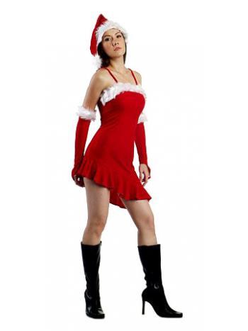 b53f9b03e58c8 Sexy Santa Girl Costume - Santa Dresses - Neve Bianca