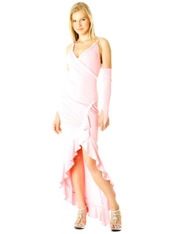 Delicate Pink Evening Dress