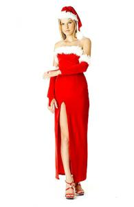 Mrs Santa Claus Gown