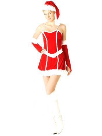 Mrs Santa Claus Dress