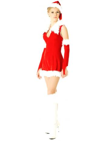 Luxurious Body Hugging Christmas Dress