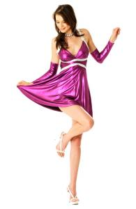 Sexy Purple Party Dress