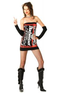 Budweiser Tube Dress