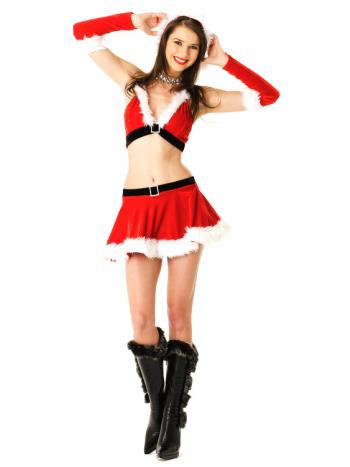 Sexy Santa 2 piece outfit