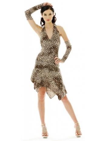 Cheetah Halter Dress