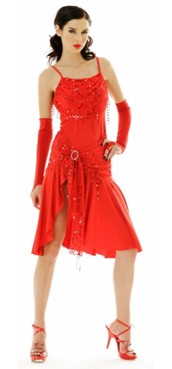 Salsa Mini Dress - Dance Dresses - Neve Bianca