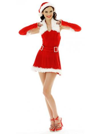 Jolly Holiday Sexy Santa Dress