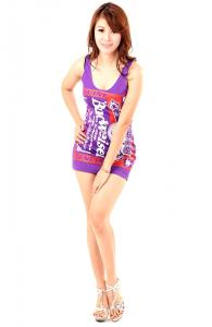 Chic Budweiser Club Dress