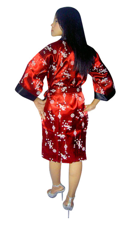 Reversible Silk Robe - Loungewear - Neve Bianca 421d0bc0b