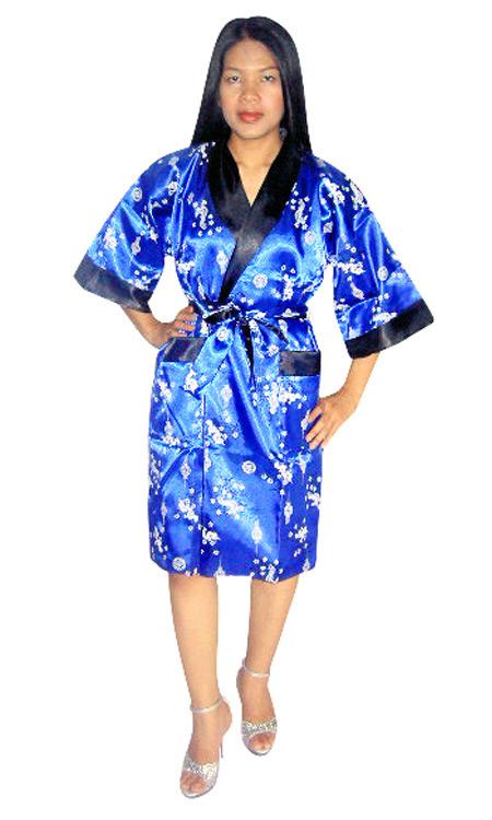 Thai Silk Robe - Loungewear - Neve Bianca e7de6933d