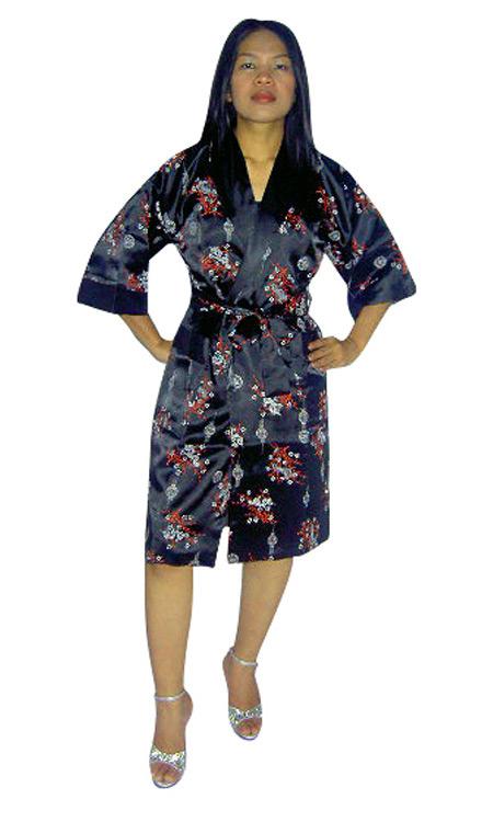 Unisex Silk Robe - Loungewear - Neve Bianca 0b5b51148