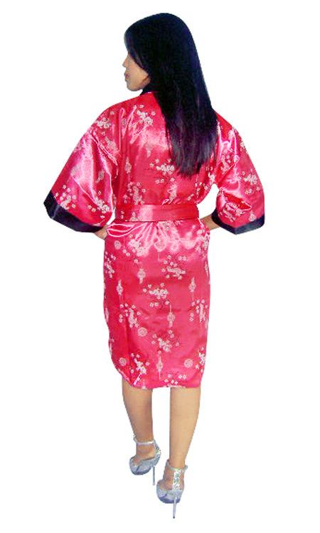 Sexy Silk Robe - Loungewear - Neve Bianca 59962e2d8