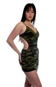 Army Look Dress