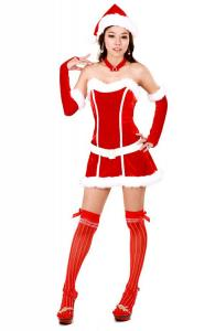 Awesome Miss Santa Dress