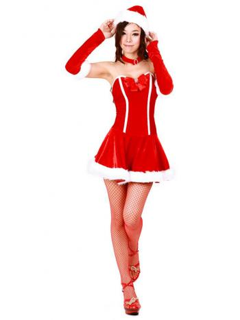 Seductive Santa Dress Costume