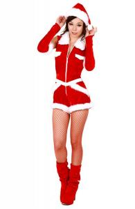 Cuddly Christmas Romper Suit