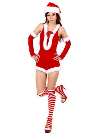 Gorgeously Sexy Santa Uniform