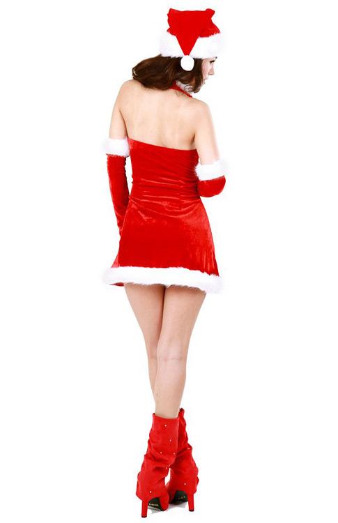 Cute Santa Girl Costume - Santa Dresses - Neve Bianca