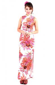 Rustic Cheongsam Dress