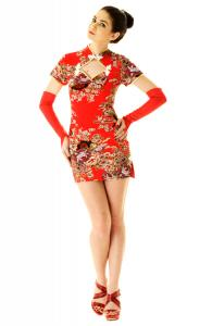 Diamond Cut Cheongsam