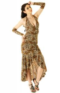 Sultry Leopard Dress