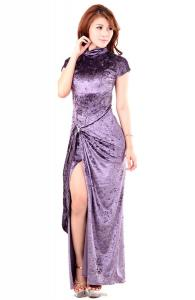 Fancy Lavender Long Dress